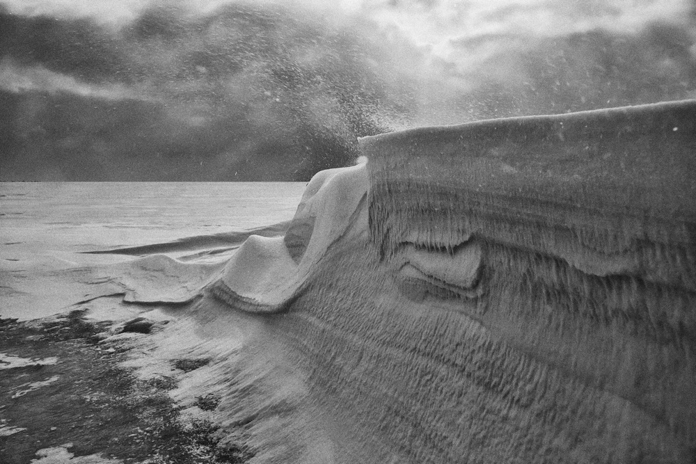 "фото ""Пурга"" метки: пейзаж, зима"