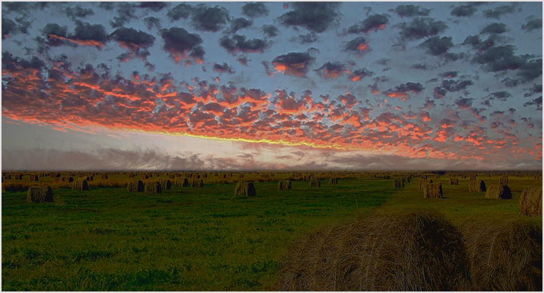 """фото """"The Field of the battle..."""" метки: пейзаж, закат"""