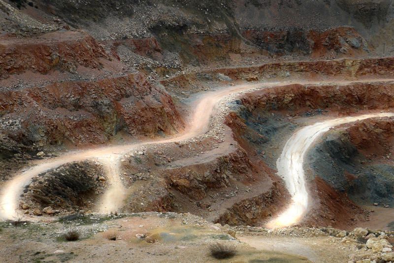 "фото ""Карьер 1"" метки: пейзаж, горы"