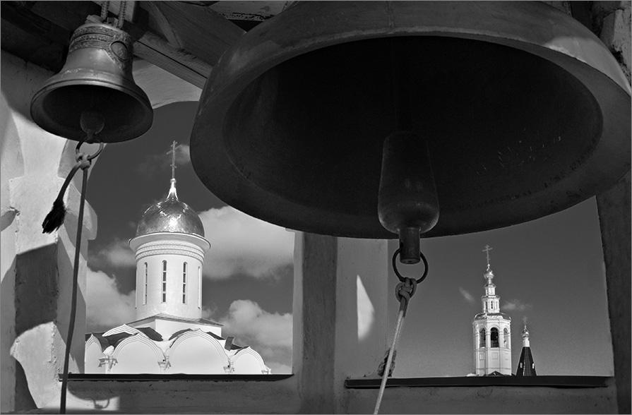 "photo ""Belfry"" tags: black&white,"