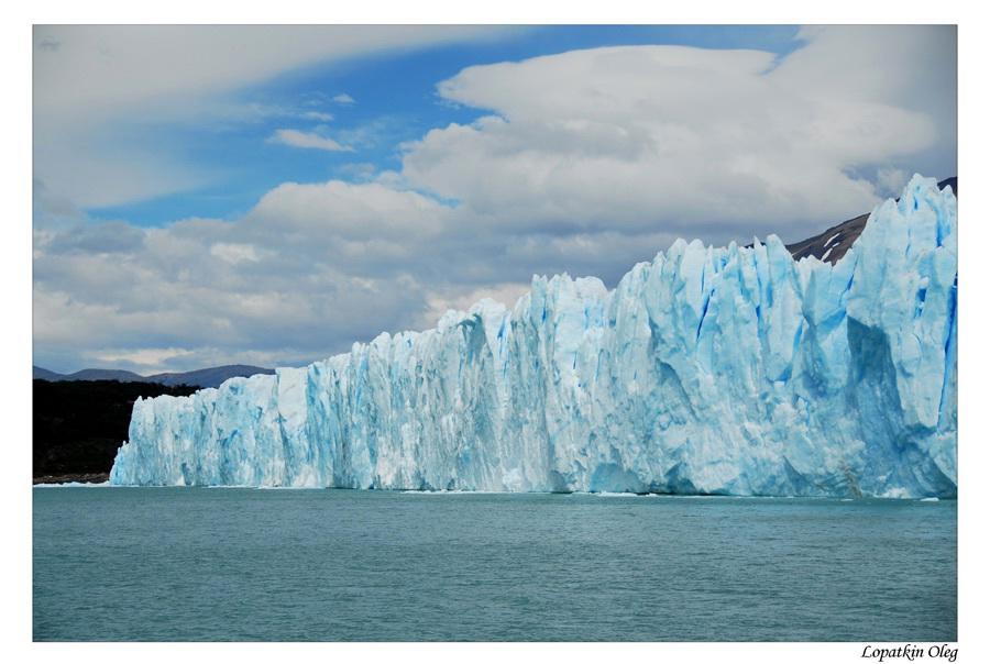 """photo """"Perito Moreno glacier"""" tags: landscape, travel, South America"""