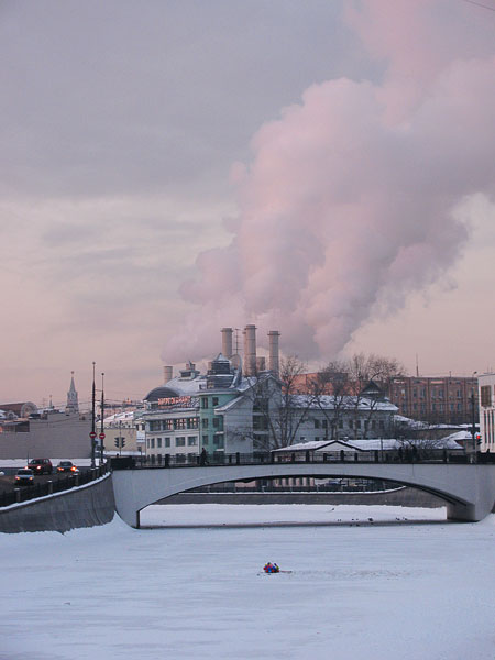 """photo """"The smoke of the fatherland"""" tags: architecture, city, landscape,"""
