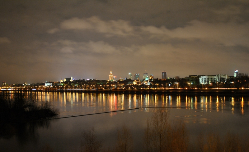 "photo ""Panoramio Warsaw"" tags: architecture, landscape,"