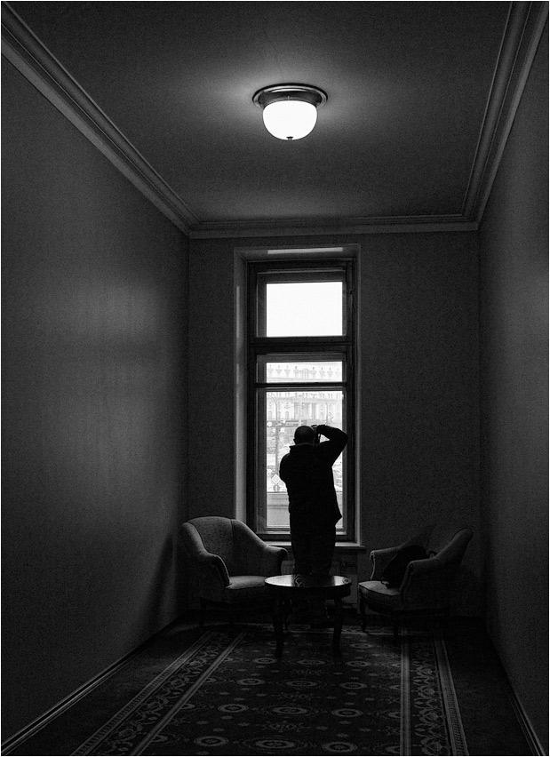 """photo """"Camera Obscura"""" tags: genre, black&white,"""