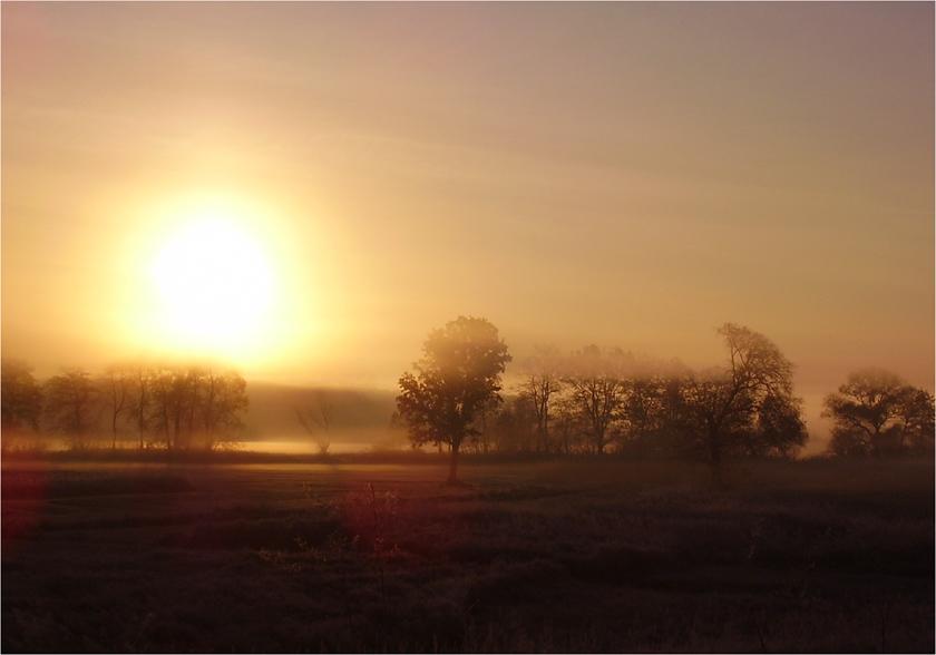 "photo ""Sunshine"" tags: landscape, sunset"