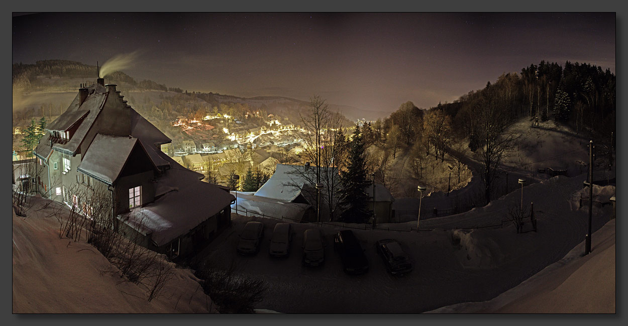 "photo ""Fairy tale world"" tags: landscape, mountains, night"