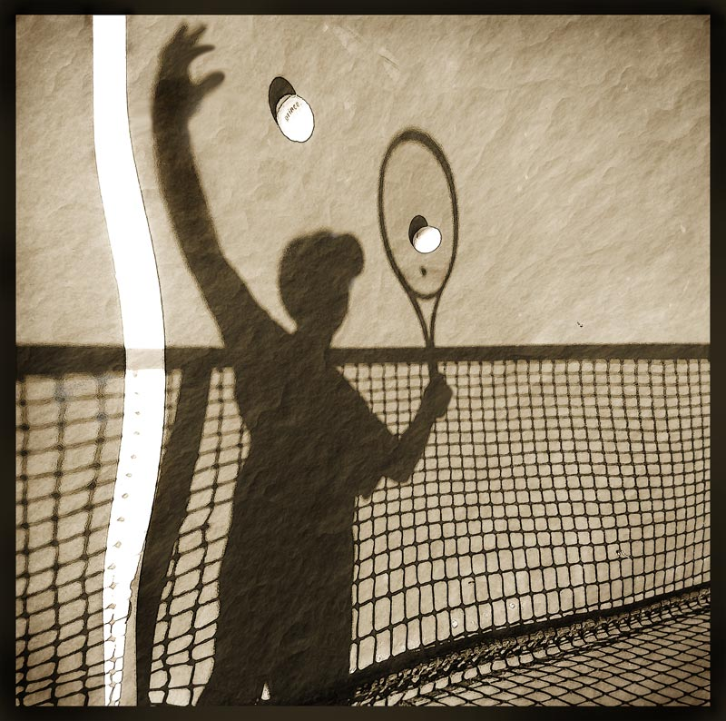 "photo ""Tennis"" tags: digital art,"