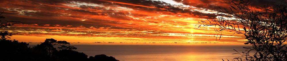 "photo ""SIGNAL HILL SUNSET"" tags: landscape, sunset"