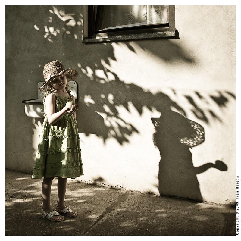 "photo ""Reminiscing Summer"" tags: portrait, children"