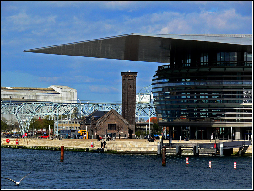 "photo ""Copenhagen Opera House"" tags: architecture, city, landscape,"