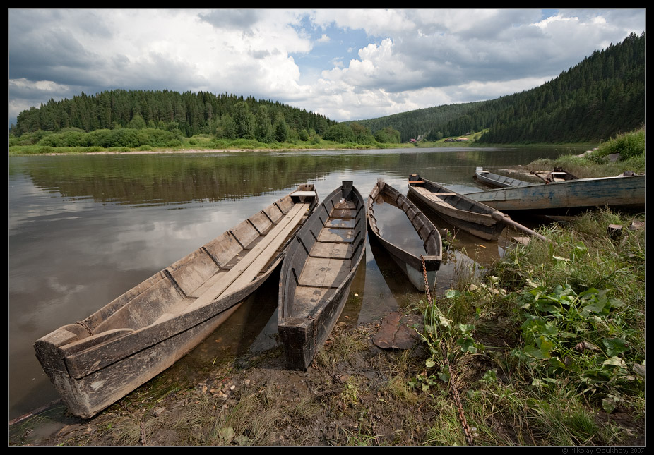 """photo """"Etude with boats / 0175_0126"""" tags: landscape, summer"""