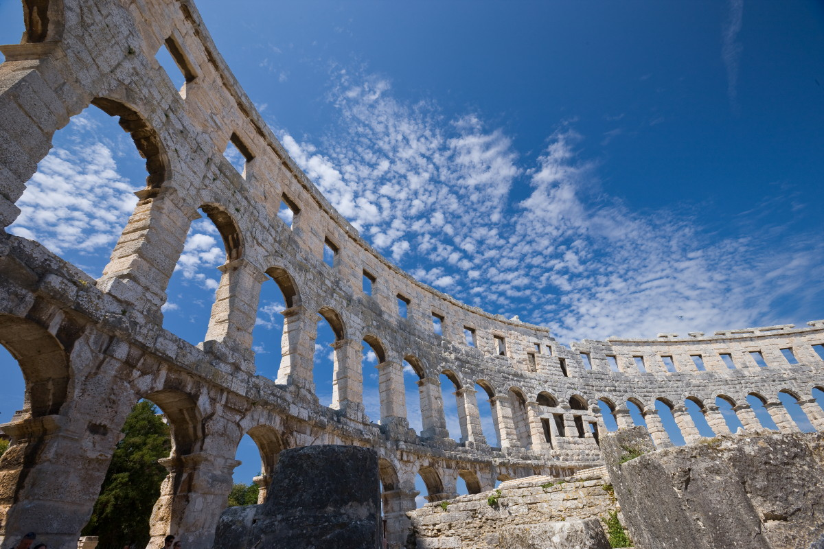 """photo """"Colosseo"""" tags: architecture, travel, landscape, Europe"""