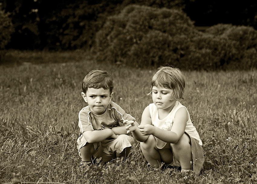 "photo ""First Date"" tags: portrait, children"
