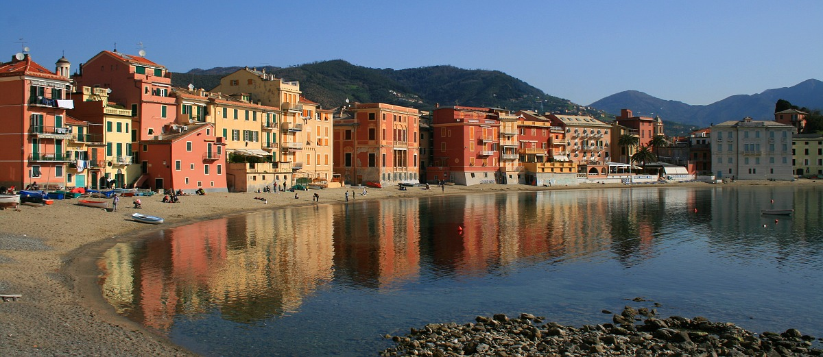 "photo ""Sestri Levante - mare piccolo"" tags: landscape, travel, Europe, water"