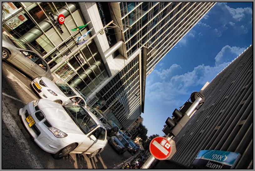 """photo """"Tel-Aviv 1323"""" tags: architecture, city, landscape,"""