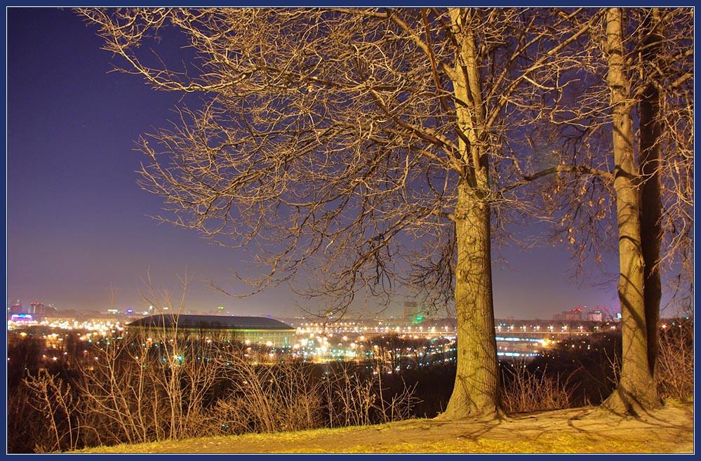 "photo ""night April"" tags: landscape, city, night"