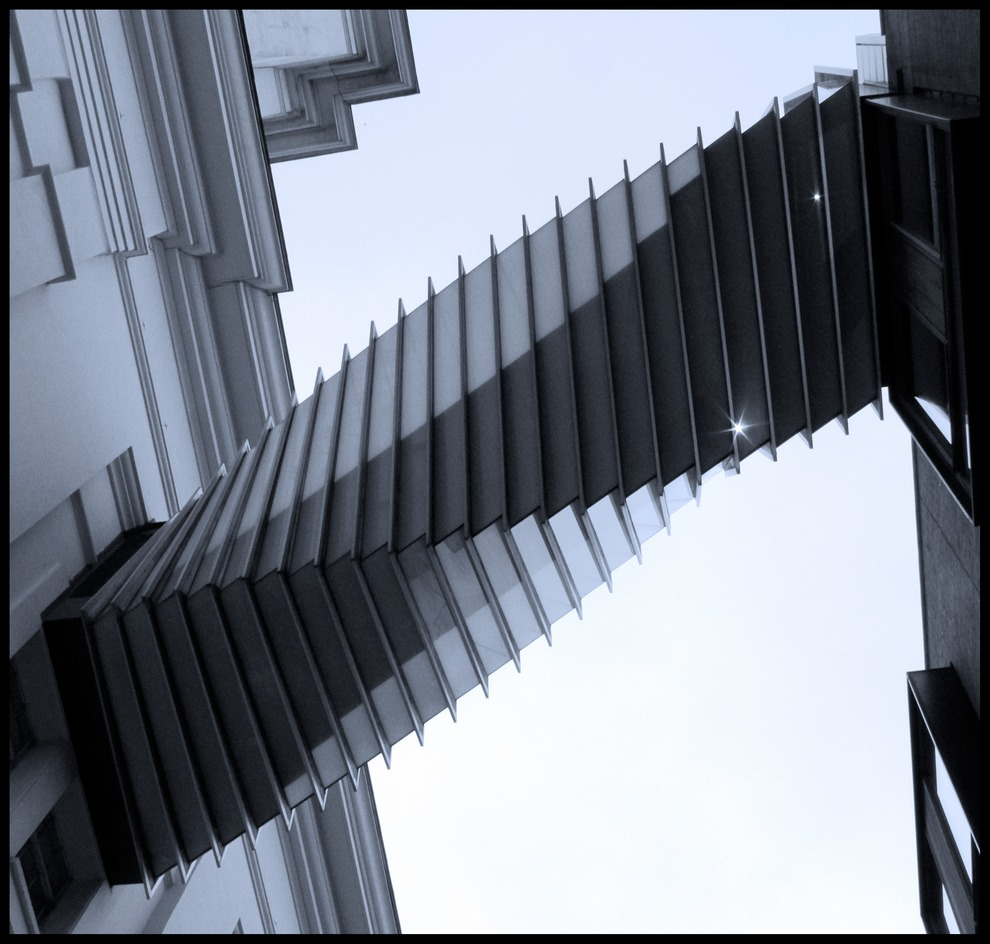 "photo ""Aspiration Bridge"" tags: architecture, travel, landscape, Europe"