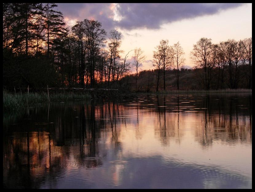 "photo ""White nights"" tags: landscape, sunset"