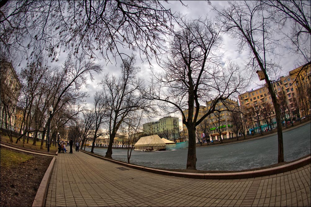 """photo """"April"""" tags: city, landscape,"""
