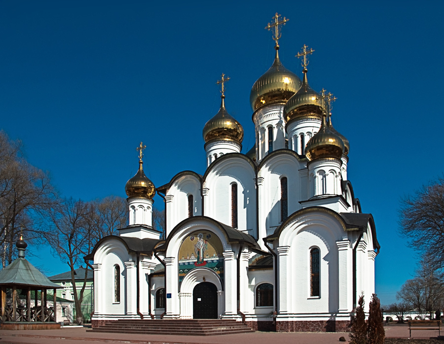 """photo """"Sacred Nikolay's cathedral"""" tags: architecture, travel, landscape,"""