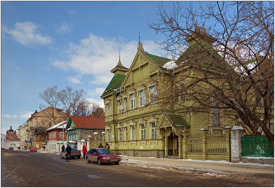"""photo """"The Kostroma sketch-2"""" tags: architecture, travel, landscape, Europe"""