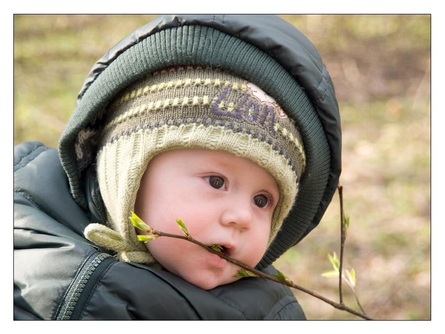 """photo """"Первый выезд Егорки в лес"""" tags: portrait, children"""