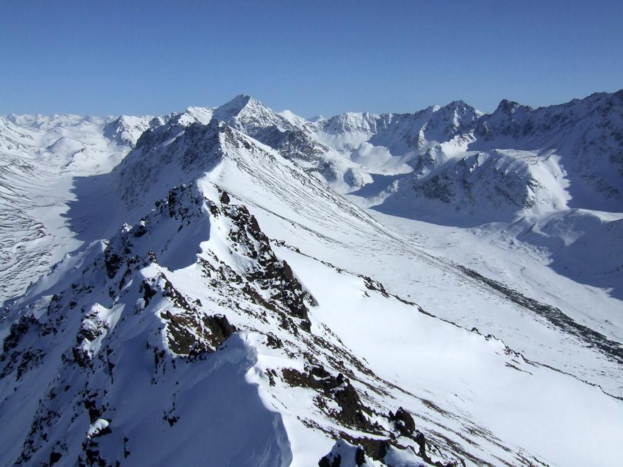 "photo ""Снежные Горы"" tags: landscape, travel, North America, mountains"