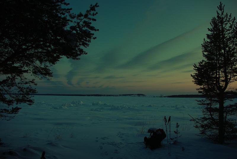"photo ""Twilight"" tags: landscape, winter"