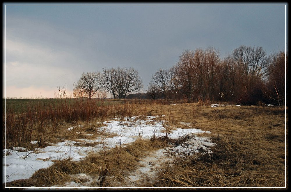 "photo ""Last Snow"" tags: landscape, spring"