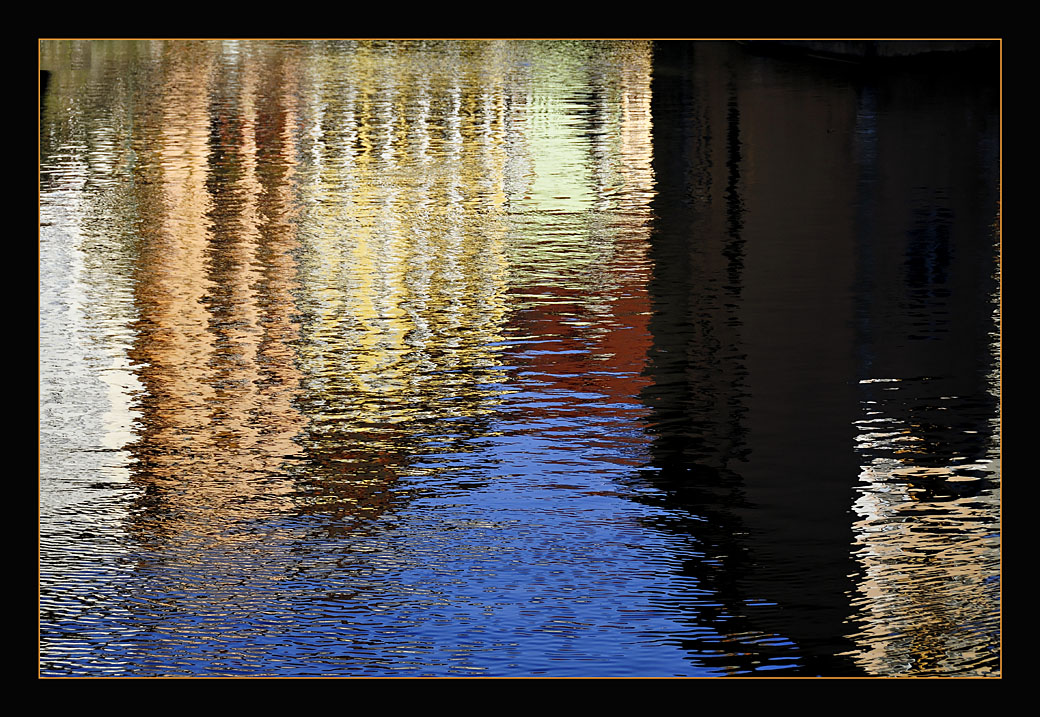 "photo ""Colored Water"" tags: abstract, landscape, water"