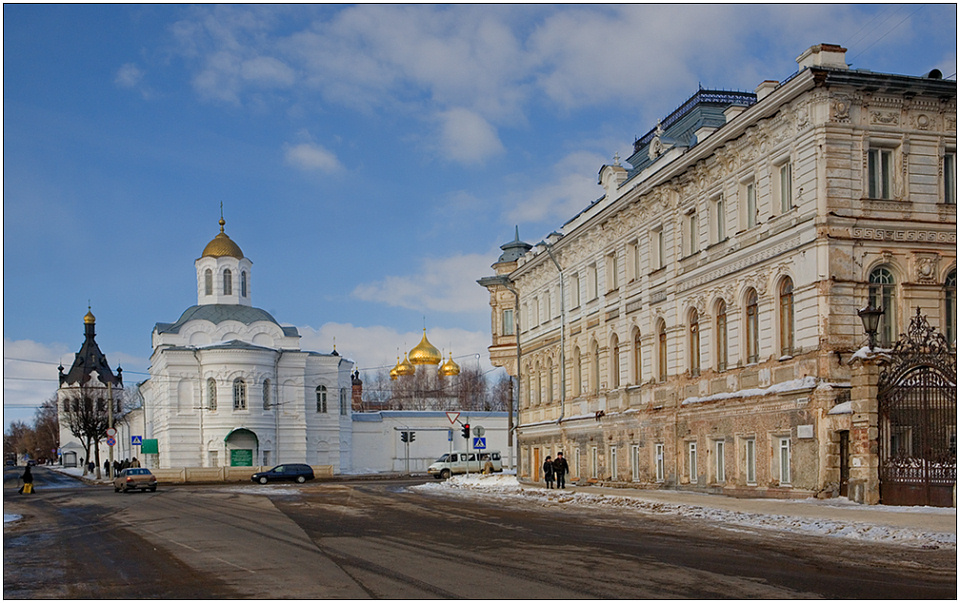 """photo """"The Kostroma sketch-3"""" tags: architecture, travel, landscape, Europe"""