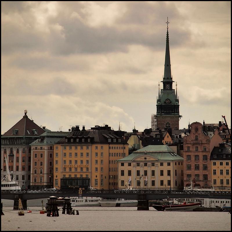 """фото """"Стокгольм, переменная облачность"""" метки: архитектура, путешествия, пейзаж, Европа"""