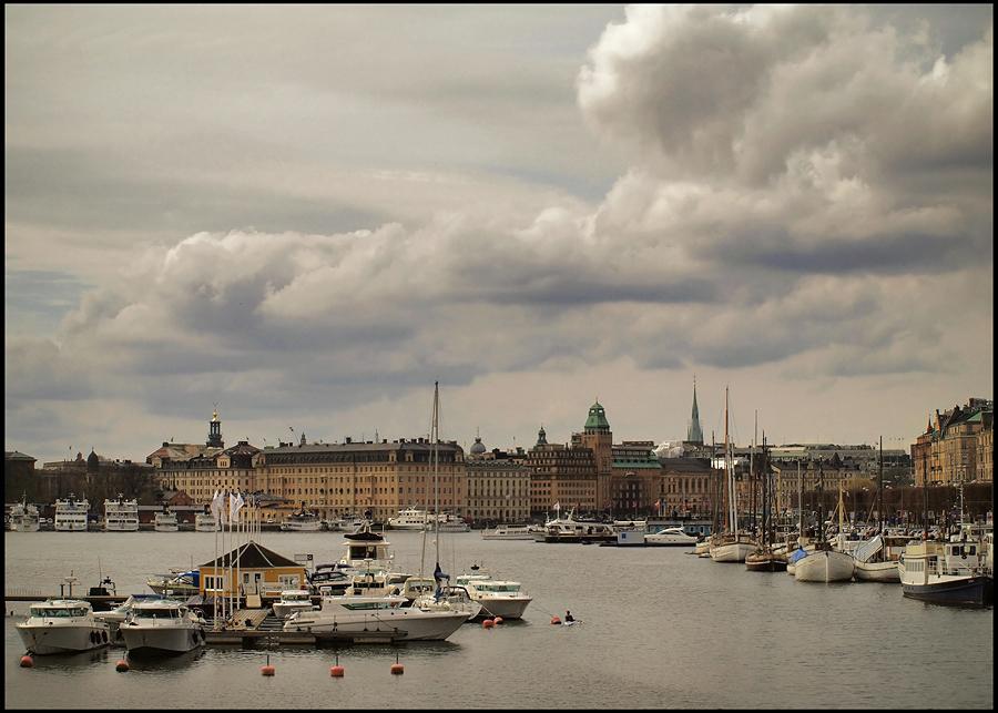 """фото """"Стокгольм, переменная облачность (2)."""" метки: путешествия, архитектура, пейзаж, Европа"""