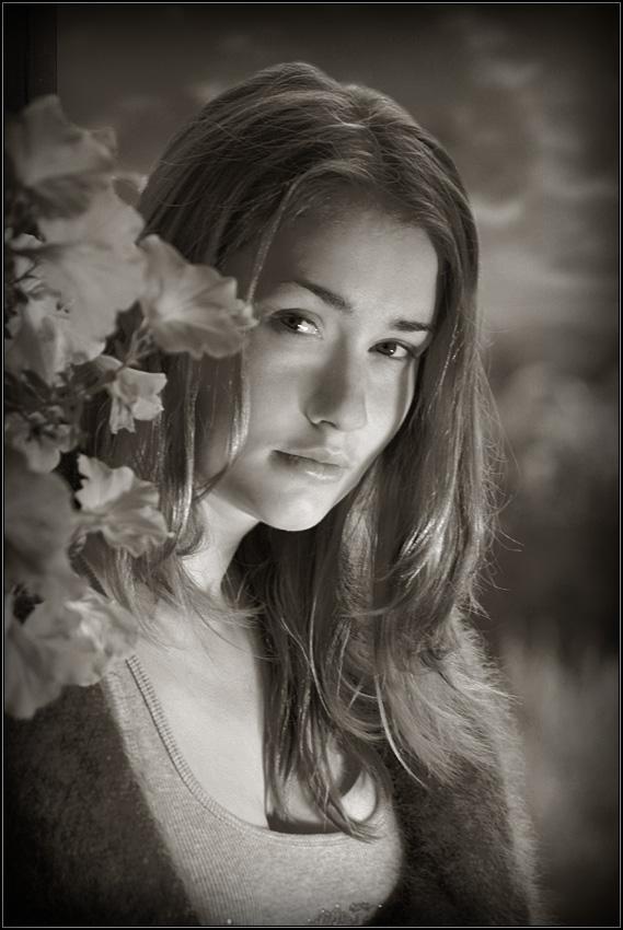 """фото """"Подмосковные вечера"""" метки: портрет, женщина"""