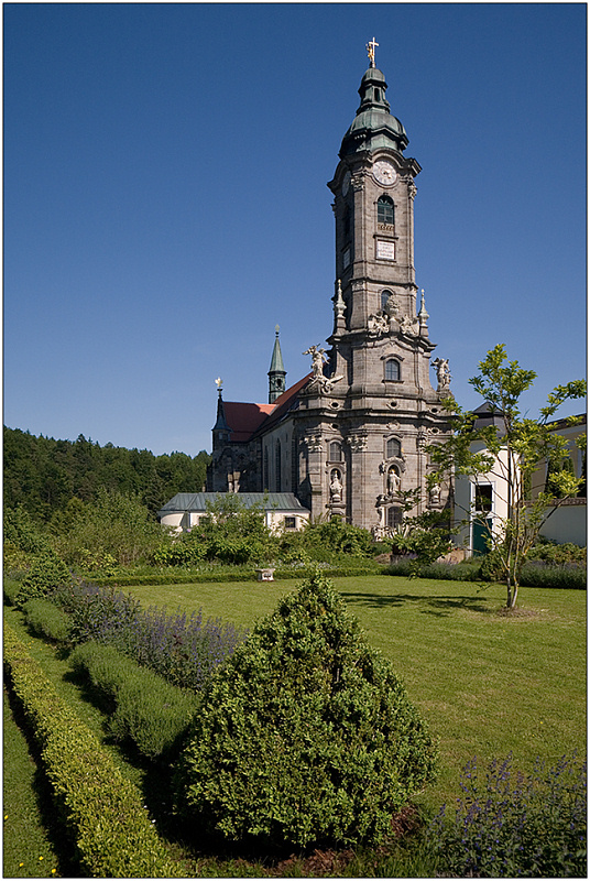 "photo ""Monastery of Zwettl"" tags: architecture, travel, landscape, Europe"