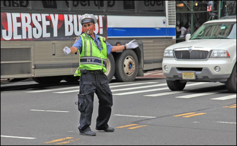 "photo ""Nice cop"" tags: genre,"