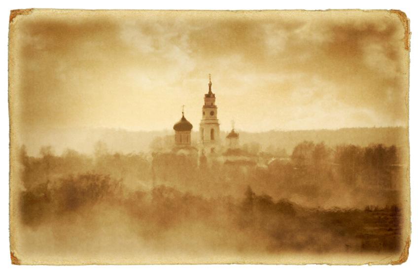 "фото ""Старая открытка"" метки: пейзаж, ретро,"