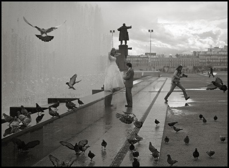 """photo """"О птичках, Картье-Брессоне и о светлых далях"""" tags: city,"""