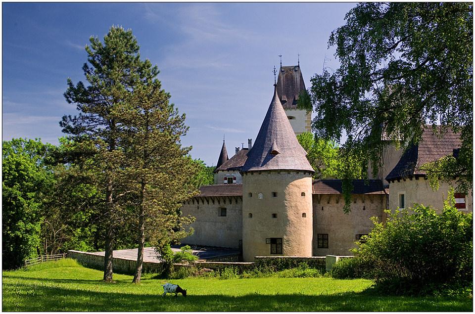 "фото ""Schloss Ottenstein"" метки: архитектура, путешествия, пейзаж, Европа"