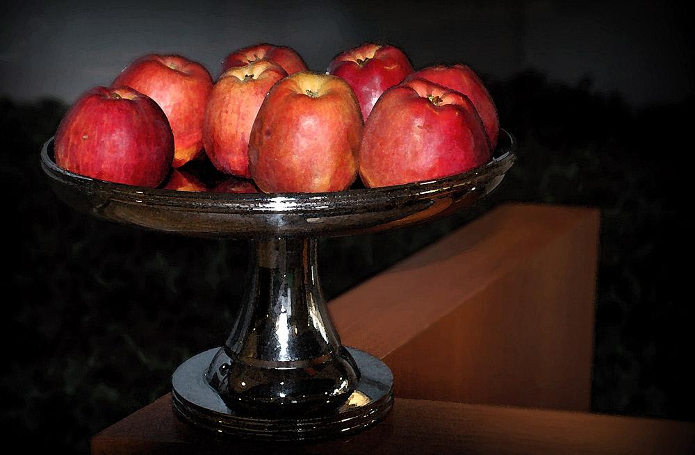 "фото ""Яблочный натюрморт"" метки: натюрморт,"