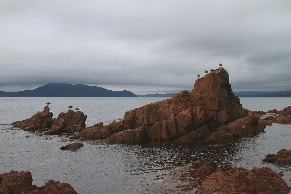 """фото """"Вечернее Японское море"""" метки: пейзаж, вода"""