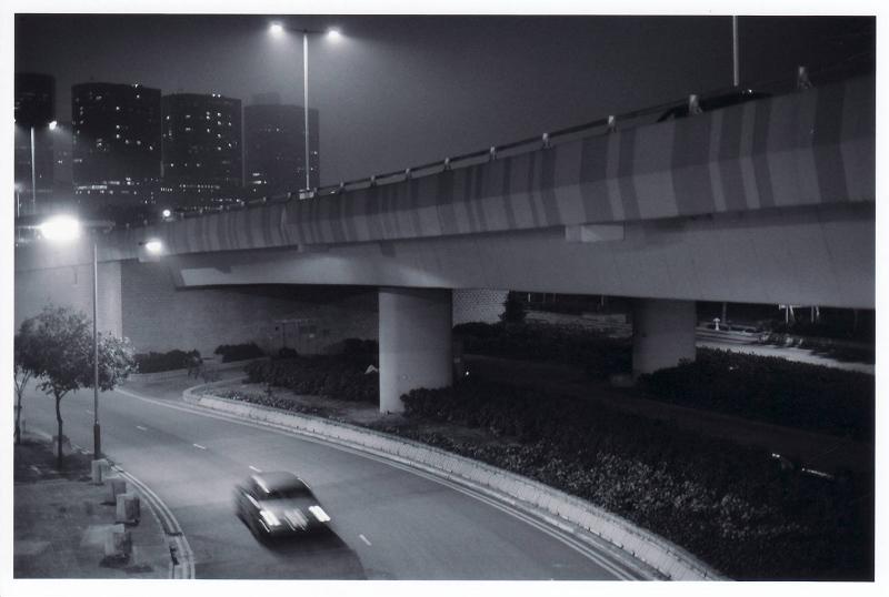 "photo ""City Night"" tags: black&white, city,"