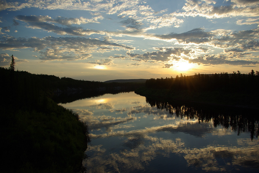 "фото ""Солнечное гало"" метки: пейзаж, закат, лето"
