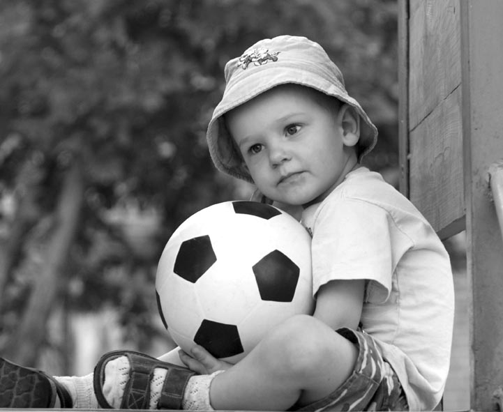 """фото """"Футбольный гений?"""" метки: портрет, дети"""