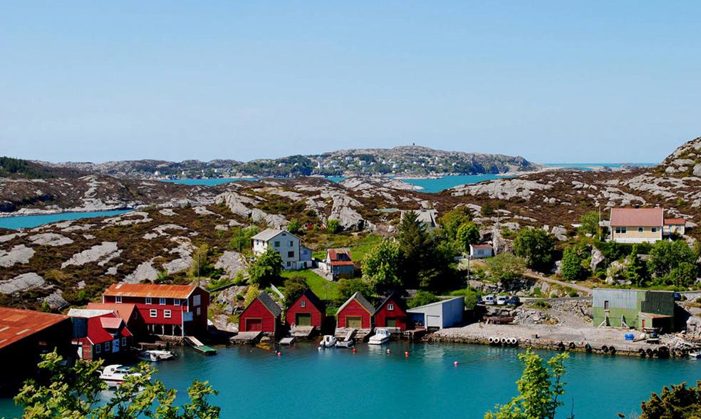 """фото """"Норвегия: Остров Сотра. Берген"""" метки: путешествия,"""