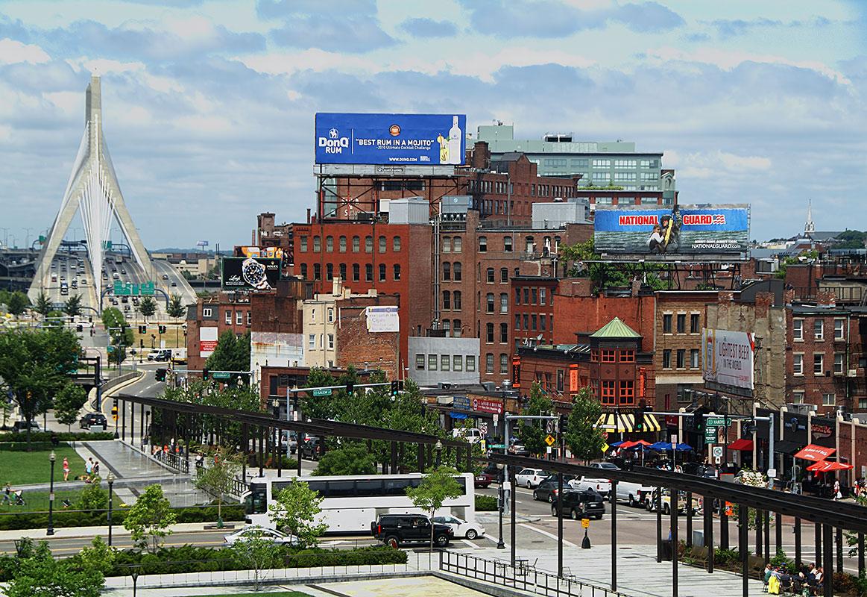"""photo """"North End, Boston"""" tags: architecture, city, landscape,"""