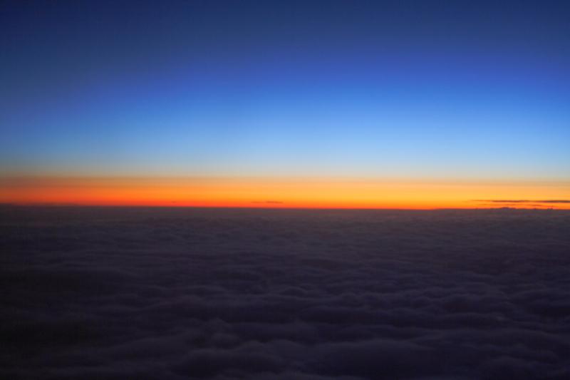 """фото """"Sunset Above the Clouds"""" метки: пейзаж, закат, облака"""