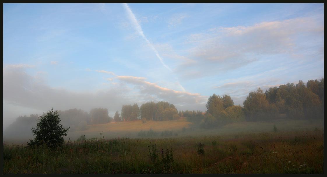 """фото """"Утро"""" метки: пейзаж, лето"""