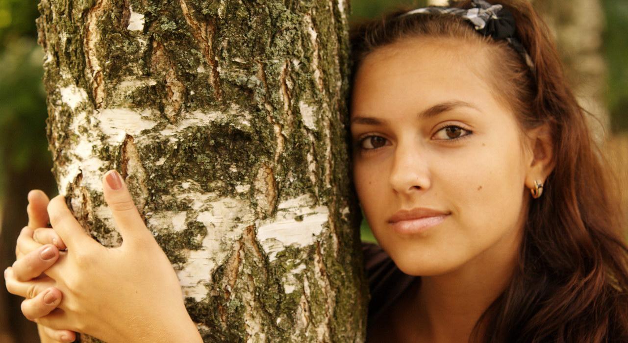 """фото """"Общение с природой"""" метки: портрет, женщина"""