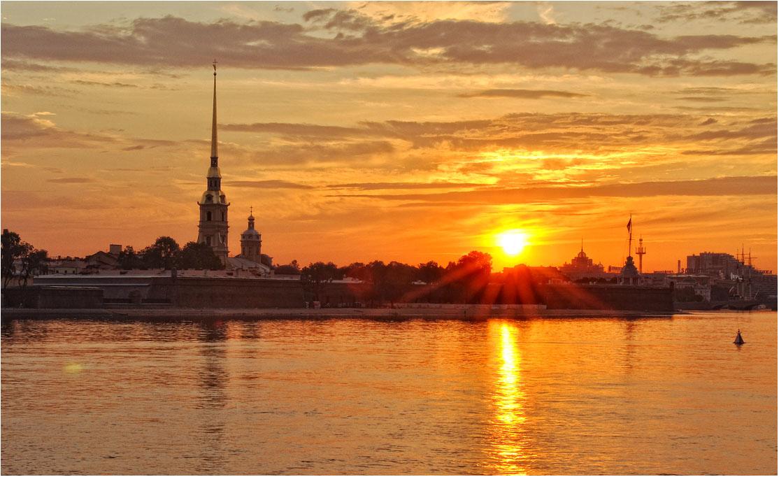 """фото """"Один из тысячи восходов"""" метки: пейзаж, облака"""